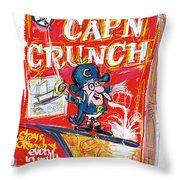 Capn Crunch Throw Pillow