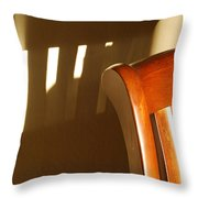 Empty Chair Throw Pillow