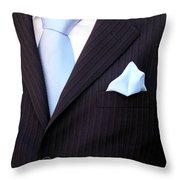 Groom's Torso Throw Pillow by Carlos Caetano