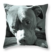 I'm Sad When You're Sad Throw Pillow by Gwyn Newcombe