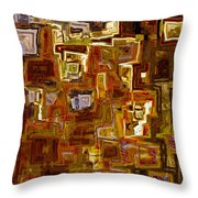 Jesus Christ The King Of The Ages Throw Pillow