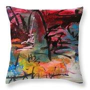 Landscape Sketch27 Throw Pillow