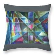 Light Patterns 2 Throw Pillow