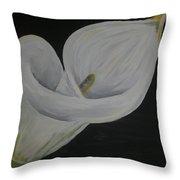 Lily Three Throw Pillow