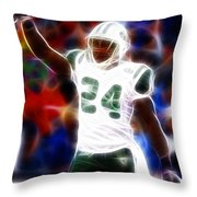 Magical Darrelle Revis Throw Pillow by Paul Van Scott