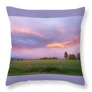 Montana Sunsets 3 Throw Pillow
