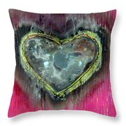My Heavy Heart Throw Pillow