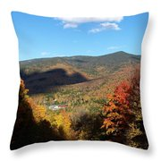 New Hampshire In The Fall 3 Throw Pillow