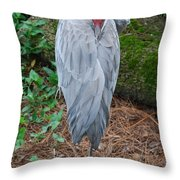 One Leg Throw Pillow