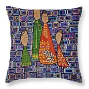 One Of Each Throw Pillow