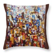 People In People Throw Pillow