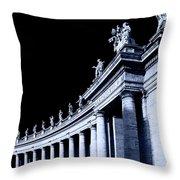 Pillars Throw Pillow