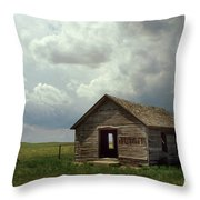 Prairie Church Throw Pillow