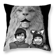 Protection Throw Pillow by Lisa Knechtel