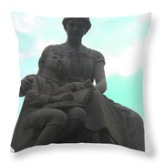 Read Me A Story Throw Pillow