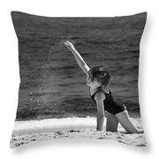 Sand Dancer Throw Pillow by Michelle Wiarda