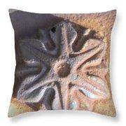 Sand Star Throw Pillow