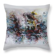 Seascape206 Throw Pillow
