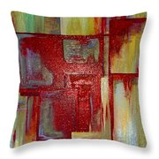 Sections Revisited Throw Pillow