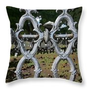 Stone Fence Throw Pillow