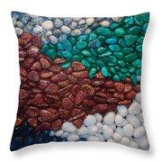 Stone River Throw Pillow