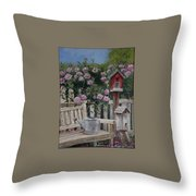 Take A Seat Throw Pillow