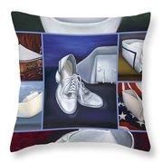 The Art Of Nursing II Throw Pillow