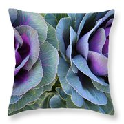 The Cabbage Patch Throw Pillow
