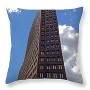The Kollhoff-tower ...  Throw Pillow by Juergen Weiss