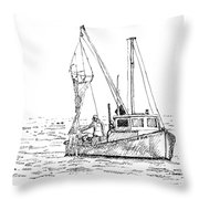 The Vessel Little Jim Throw Pillow