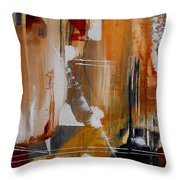 Turbulent Times  II Throw Pillow