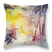 Watercolor  007 Throw Pillow