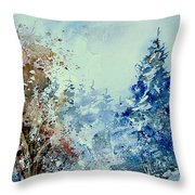 Watercolor  010307 Throw Pillow