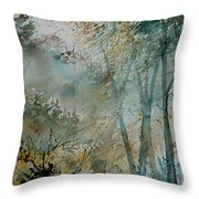 Watercolor  051008 Throw Pillow
