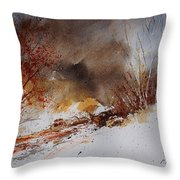 Watercolor  100508 Throw Pillow