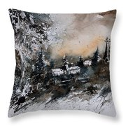 Watercolor  121206 Throw Pillow