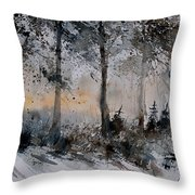 Watercolor  141206 Throw Pillow