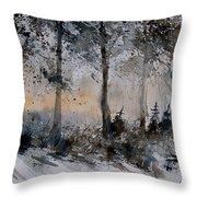 Watercolor  141206 Throw Pillow