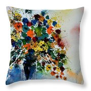 Watercolor  220407 Throw Pillow