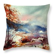 Watercolor 221108 Throw Pillow