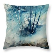 Watercolor  230907 Throw Pillow
