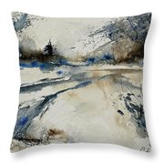 Watercolor 240906 Throw Pillow