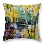 Watercolor  280808 Throw Pillow