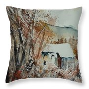 Watercolor 902001 Throw Pillow