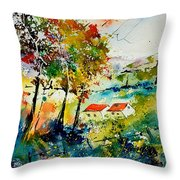 Watercolor 903001 Throw Pillow