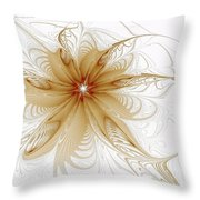 Wispy Throw Pillow by Amanda Moore