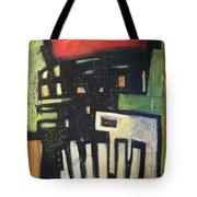 D Flat Tote Bag