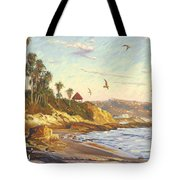 Heisler Park Rockpile At Twilight Tote Bag