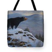 Last Look Black Bear Tote Bag
