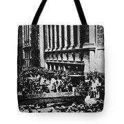 Wall Street Crash 1929 Tote Bag